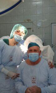д-р Събина Петканска и д-р Васил Петкански